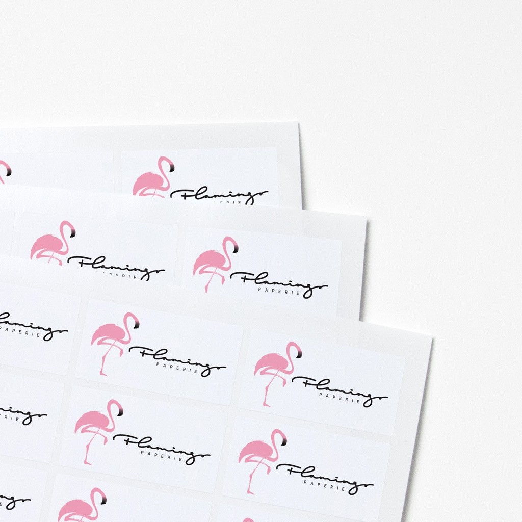 Labels for Tissue Paper 32x63mm