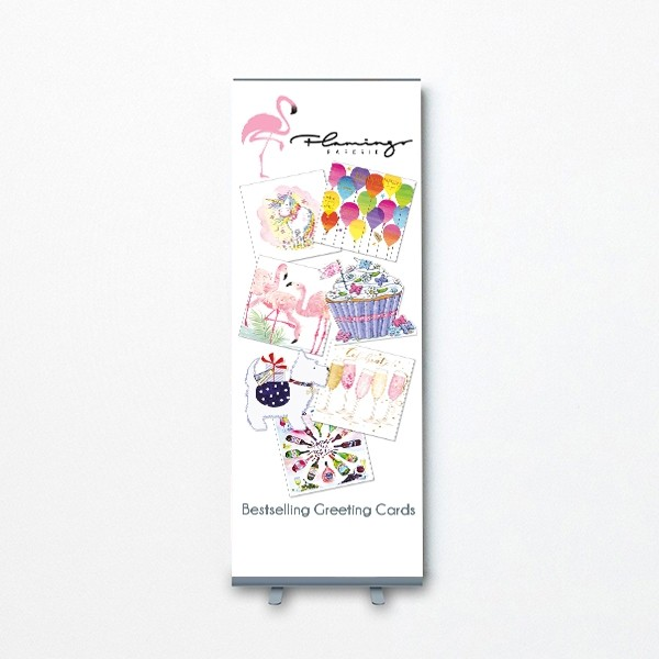 Pull Up Banner - Bestselling Cards