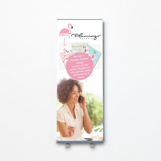 Pull Up Banner - Become a Partner